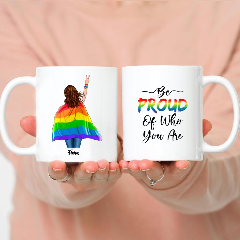 LGBT Couple - Be Proud Of Who You Are