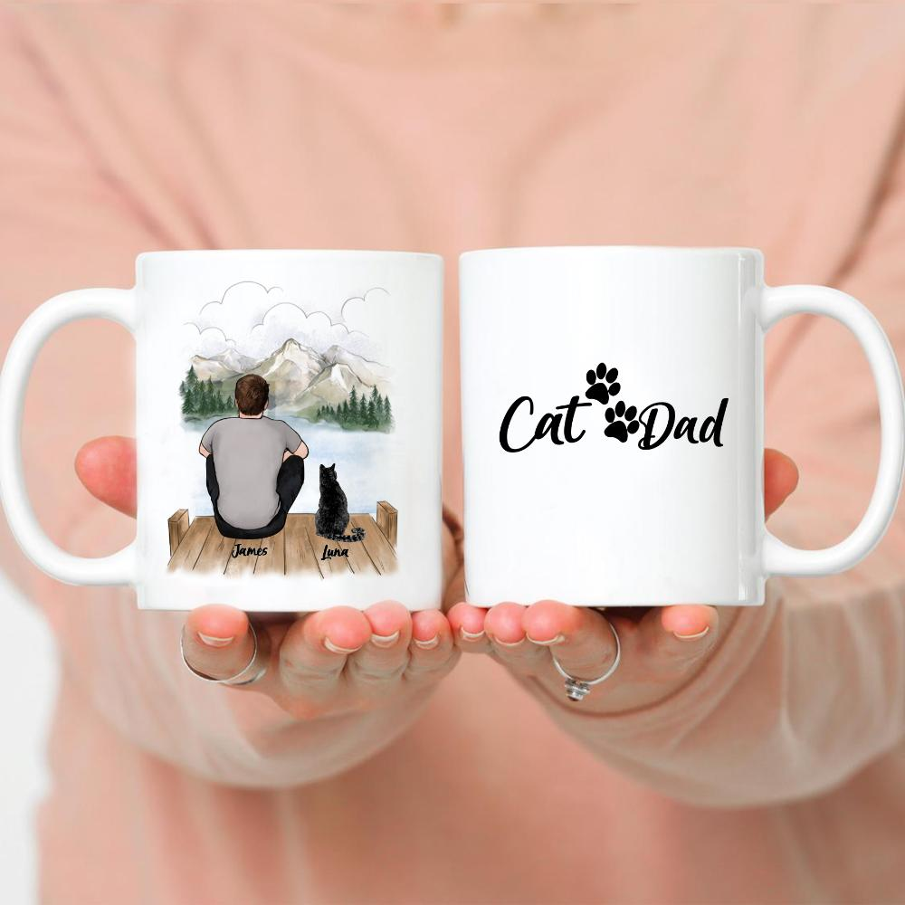 Man and Cats - Cat Dad
