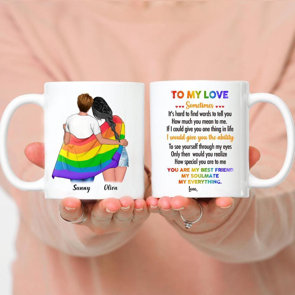 LGBT Couple | W - Every time I see you I fall in love all over again