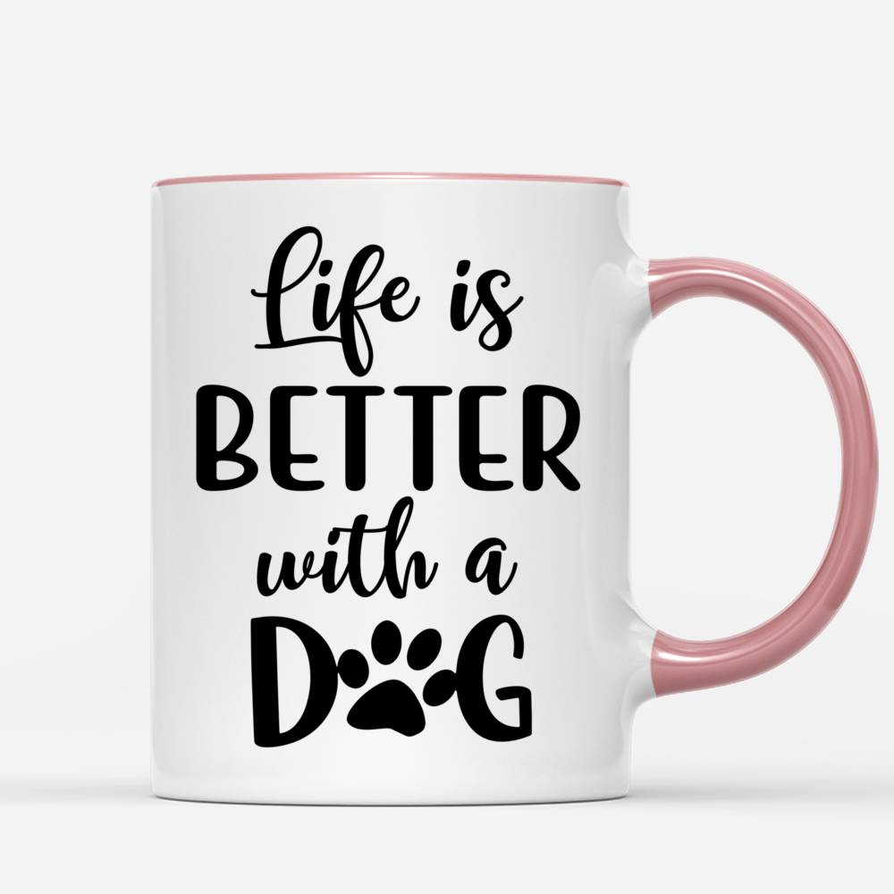 Couple Christmas - Life is better with dogs