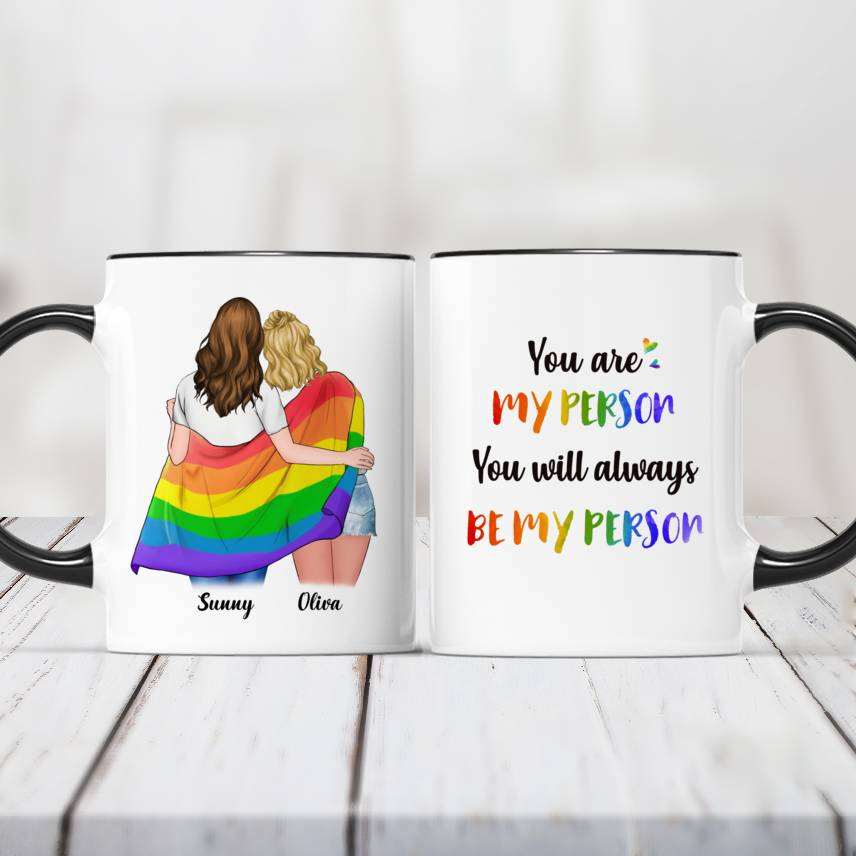 LGBT Couple | W - You are my person. You will always be my person