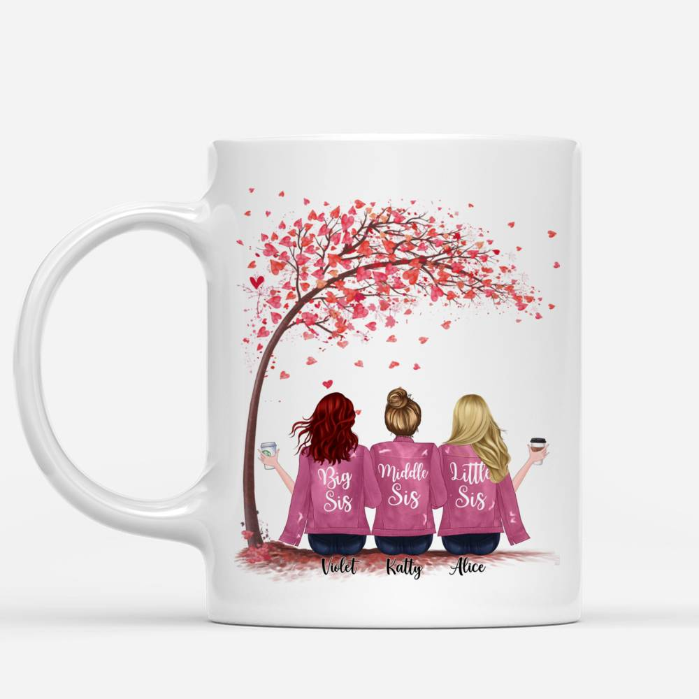 Up to 5 Sisters - Sisters forever, never apart. Maybe in distance but never at heart (Love Tree)