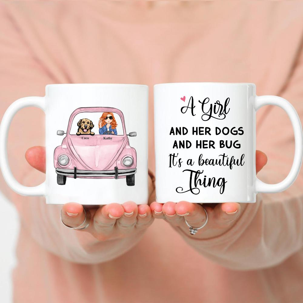 Dog Lady & Her Bug - A Girl And Her Dog And Her Bug. It's A Beautiful Thing - Up to 5 Dogs