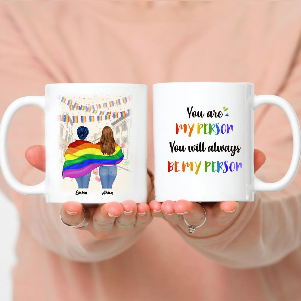 LGBT Couple - You Are My Person You Will Always Be My Person