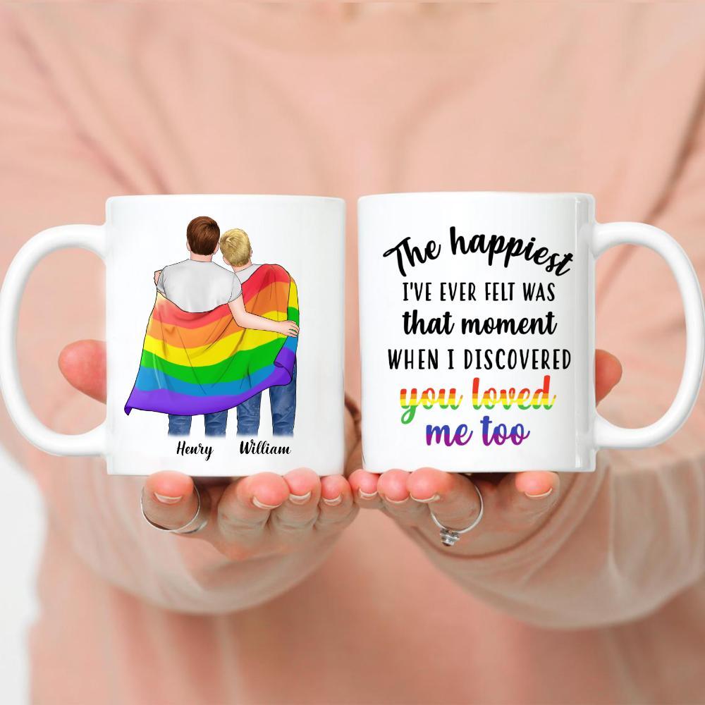 LGBT Couple - The happiest I've ever felt was that moment when i discovered you loved me too