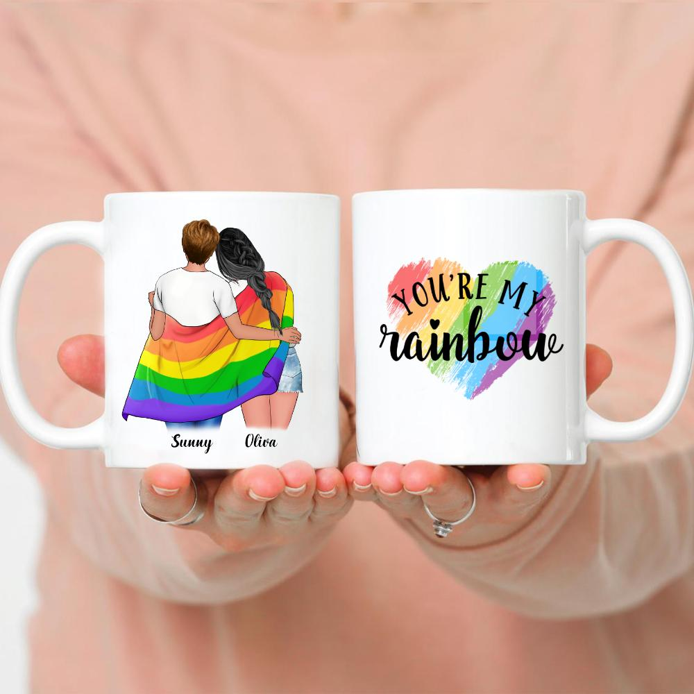 LGBT Couple | W - You are my rainbow