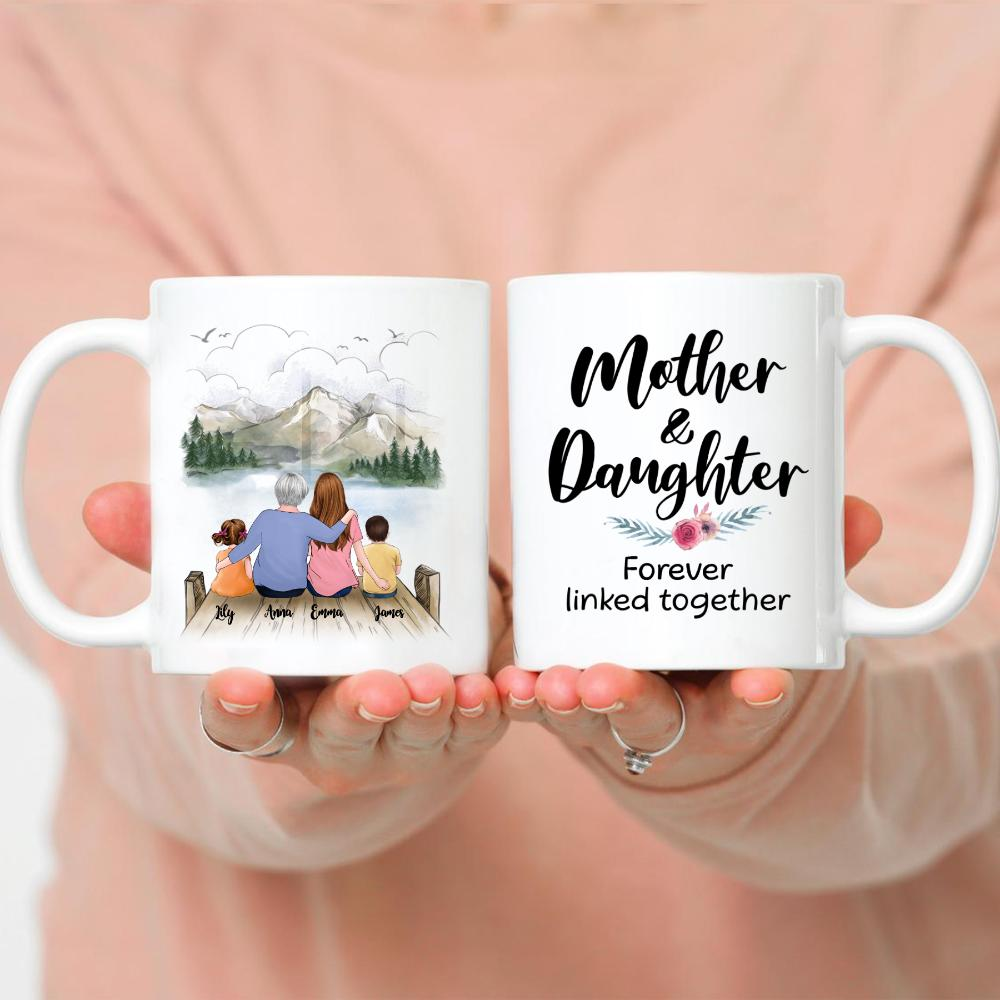 Family - Mother & Daughter Forever Linked Together