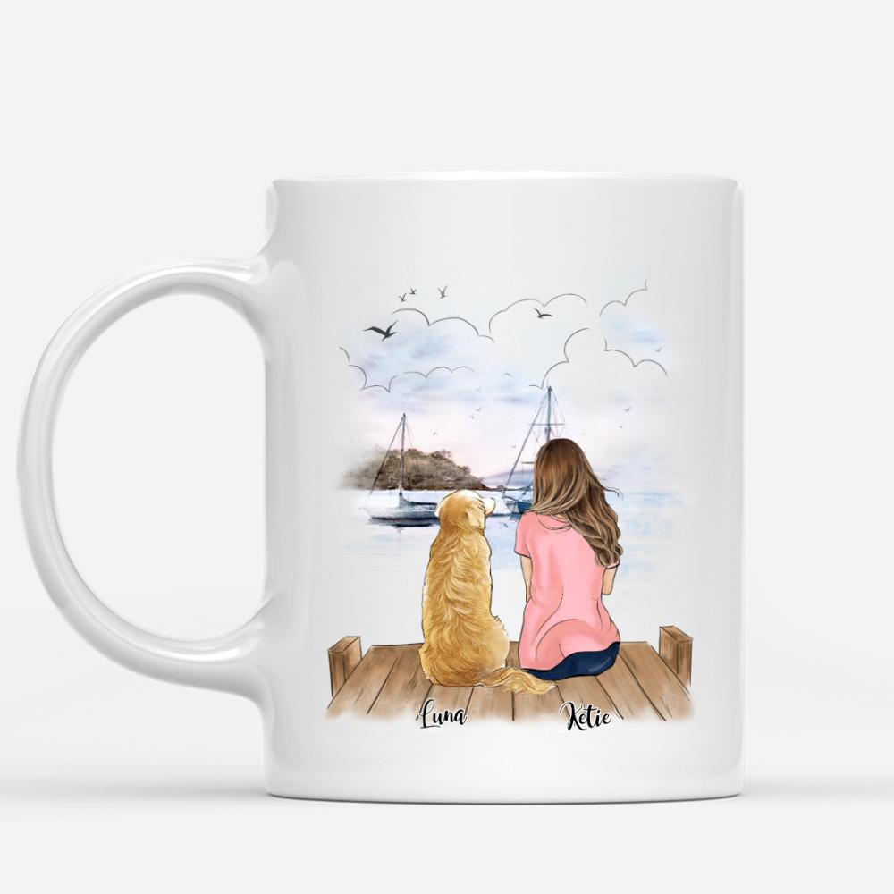 Girl And Dogs - World's Best Dog Mom